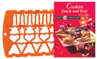 Cookies Quick and Easy Set: Recipe Book and Cookie Cutter