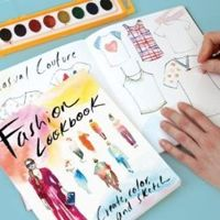 Fashion Lookbook: Create, Color and Sketch