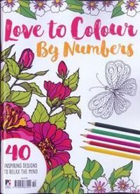 Love to Colour by numbers  MAGAZYN #10
