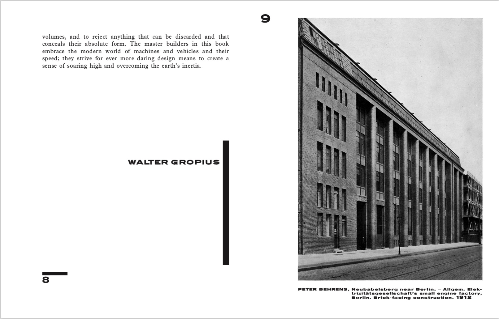 By Lars Muller Publishers from Walter Gropius. International Architecture copyright Lars Muller Publishers 2019