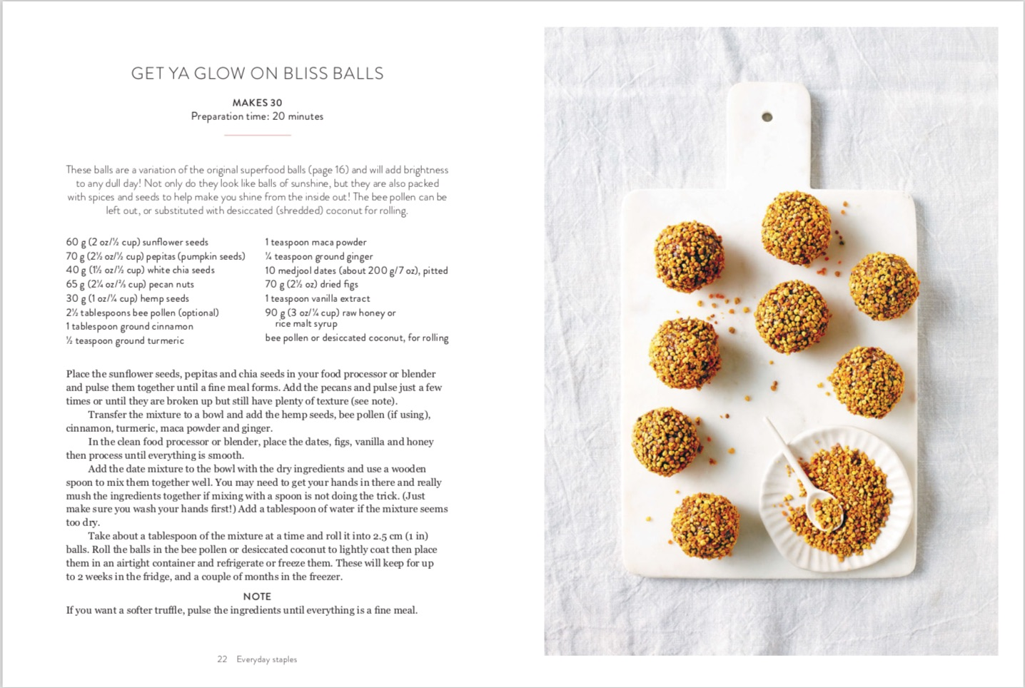 By Kate Bradley from Bliss Bites: Vegan, Gluten and Dairy-Free Treats from the Kenko Kitchen copyright Hardie Grant Books 2017