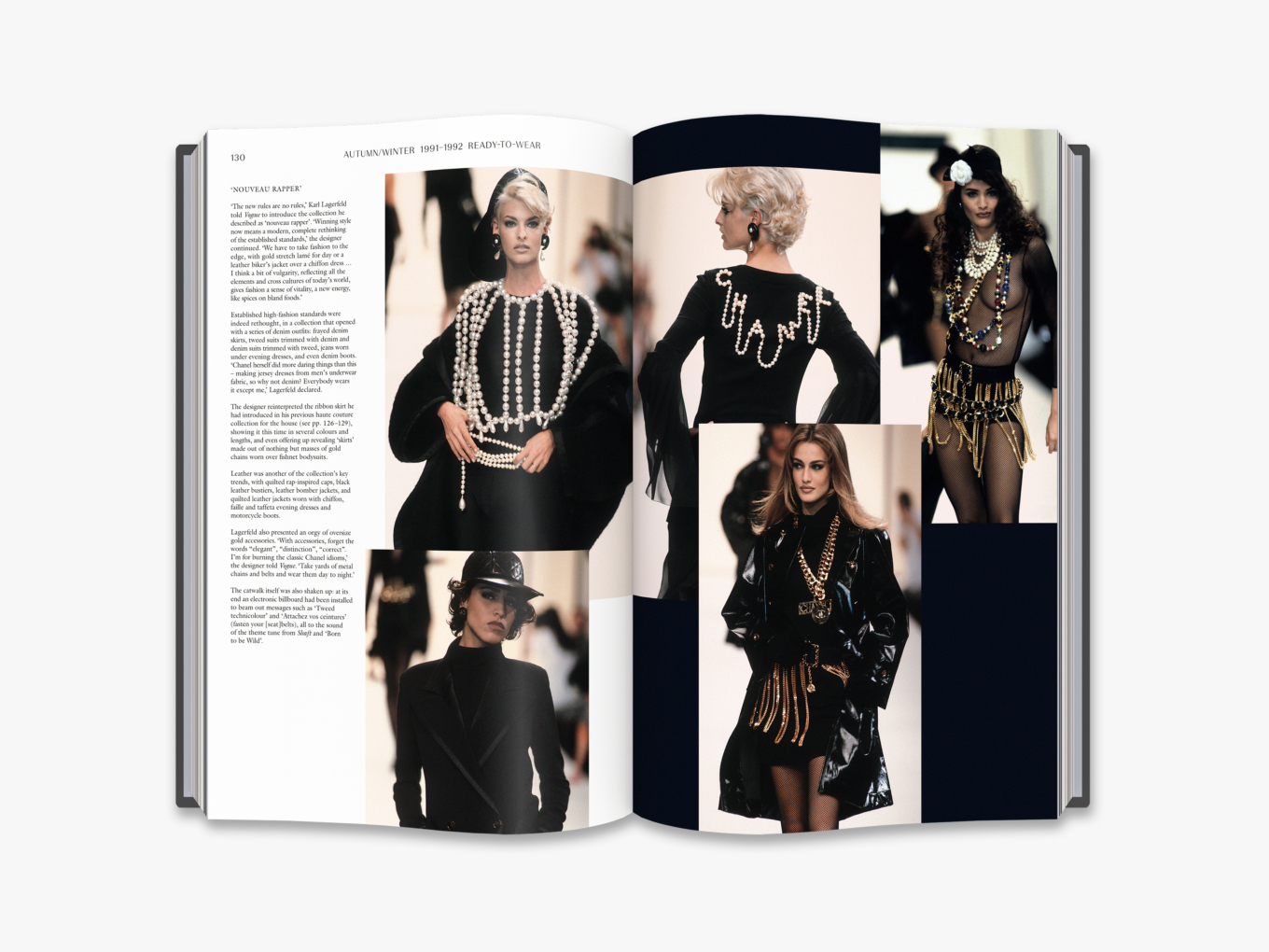From Chanel Catwalk: The Complete Karl Lagerfeld Collections copyright Thames & Hudson 2016