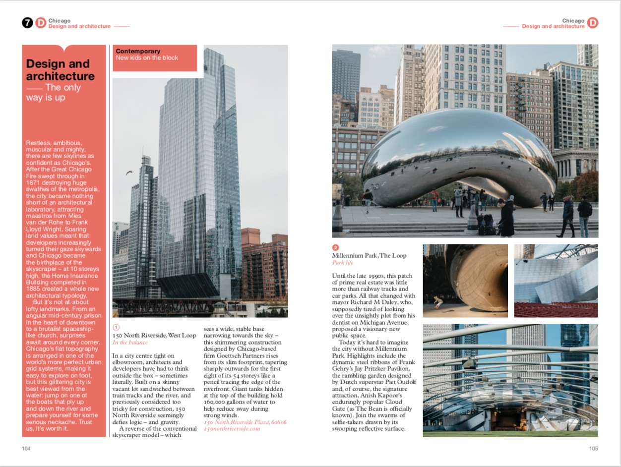 By Monocle from Chicago: The Monocle Travel Guide Series copyright Gestalten 2019