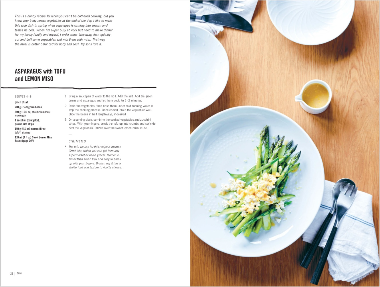 By Meg Tanaka and Zenta Tanaka from CIBI: Simple Japanese-inspired Meals to Share with Family and Friends copyright Hardie Grant Books 2018