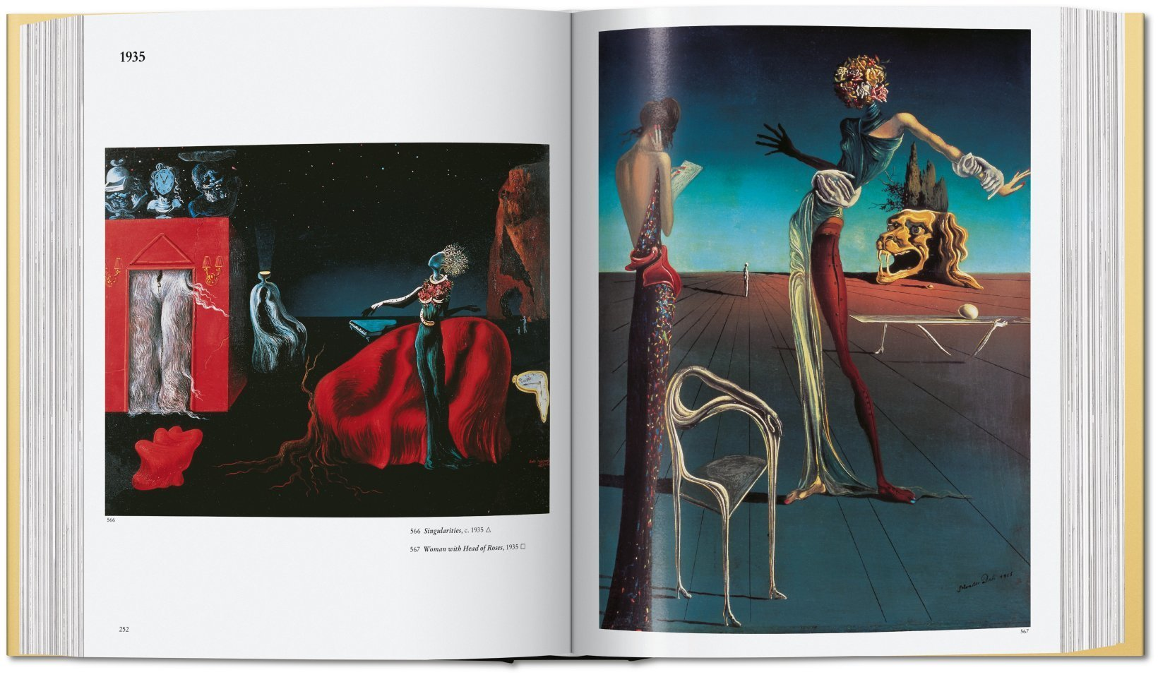By Robert Descharnes, Gilles Neret from Dali. The Paintings copyright Taschen 2019