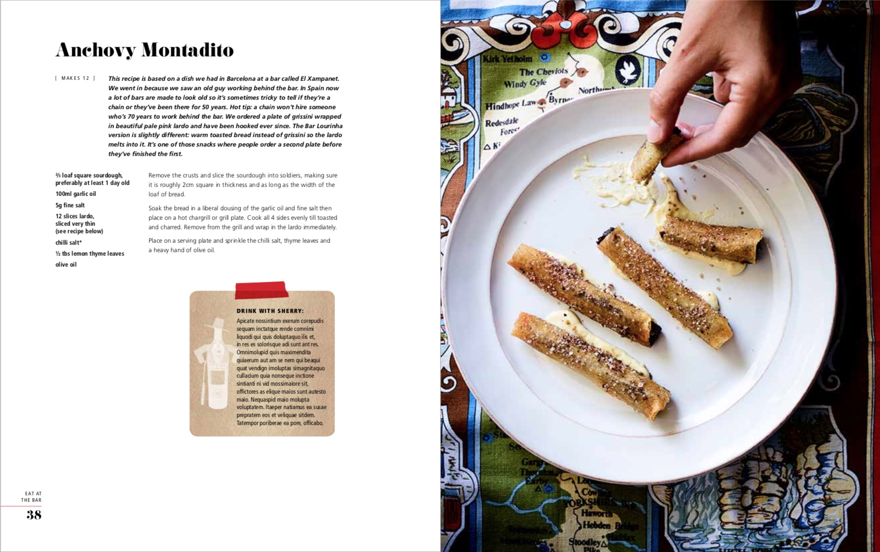 By Jo Gamvros and Matt McConnell from Eat at the Bar: Recipes Inspired by Travels in Spain, Portugal and Beyond copyright Hardie Grant Books 2018