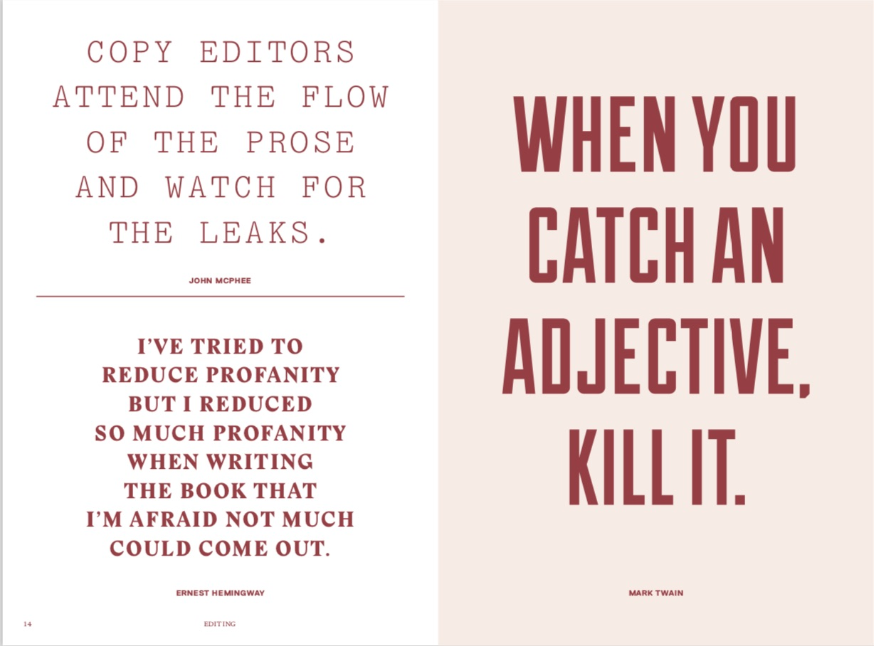 By Phaidon Editorsi from Every Day a Word Surprises Me & Other Quotes by Writers copyright Phaidon 2018