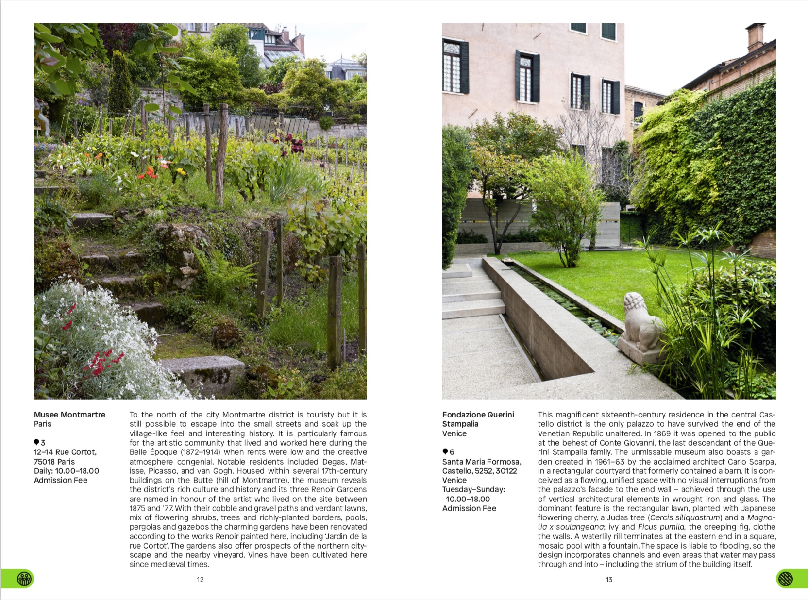 By Toby Musgrave from Green Escapes: The Guide to Secret Urban Gardens copyright Phaidon 2018