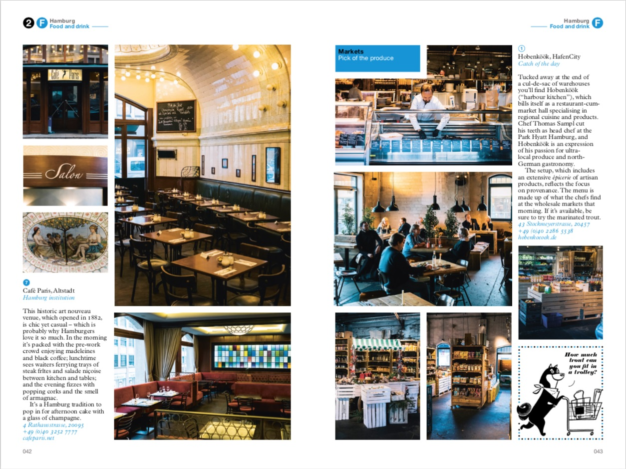 By Tyler Brule, Andrew Tuck, Joe Pickard from Hamburg: The Monocle Travel Guide Series copyright Gestalten 2019