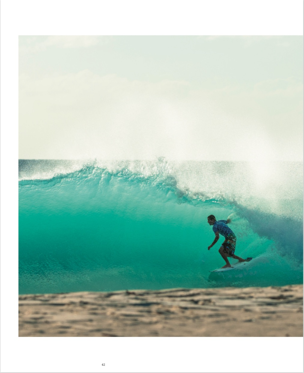 By Chris Burkard from High Tide, A Surf Odyssey: Photographs by Chris Burkard copyright Lannoo 2015