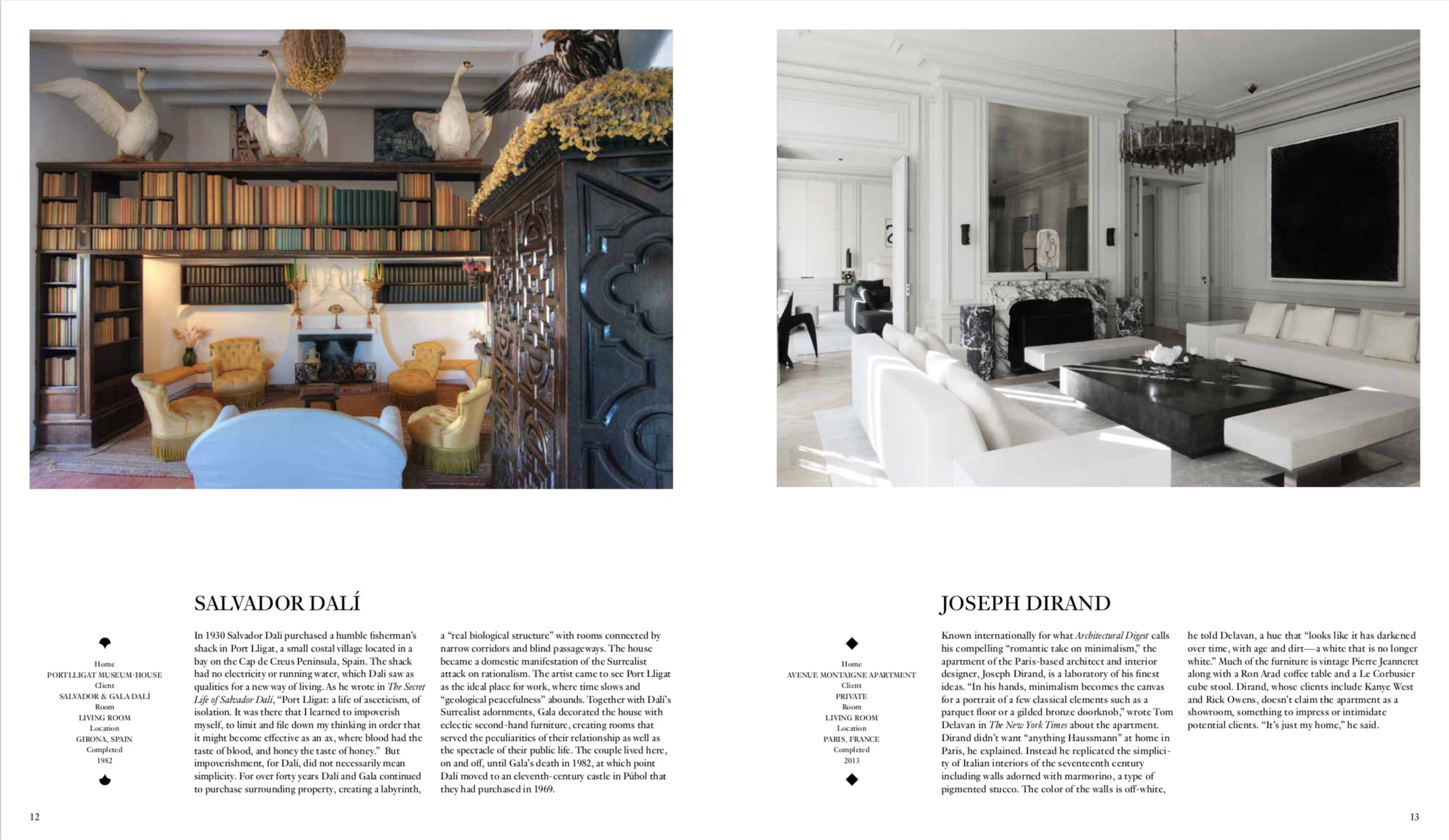 From Interiors (Midnight Blue Edition) copyright Phaidon 2019
