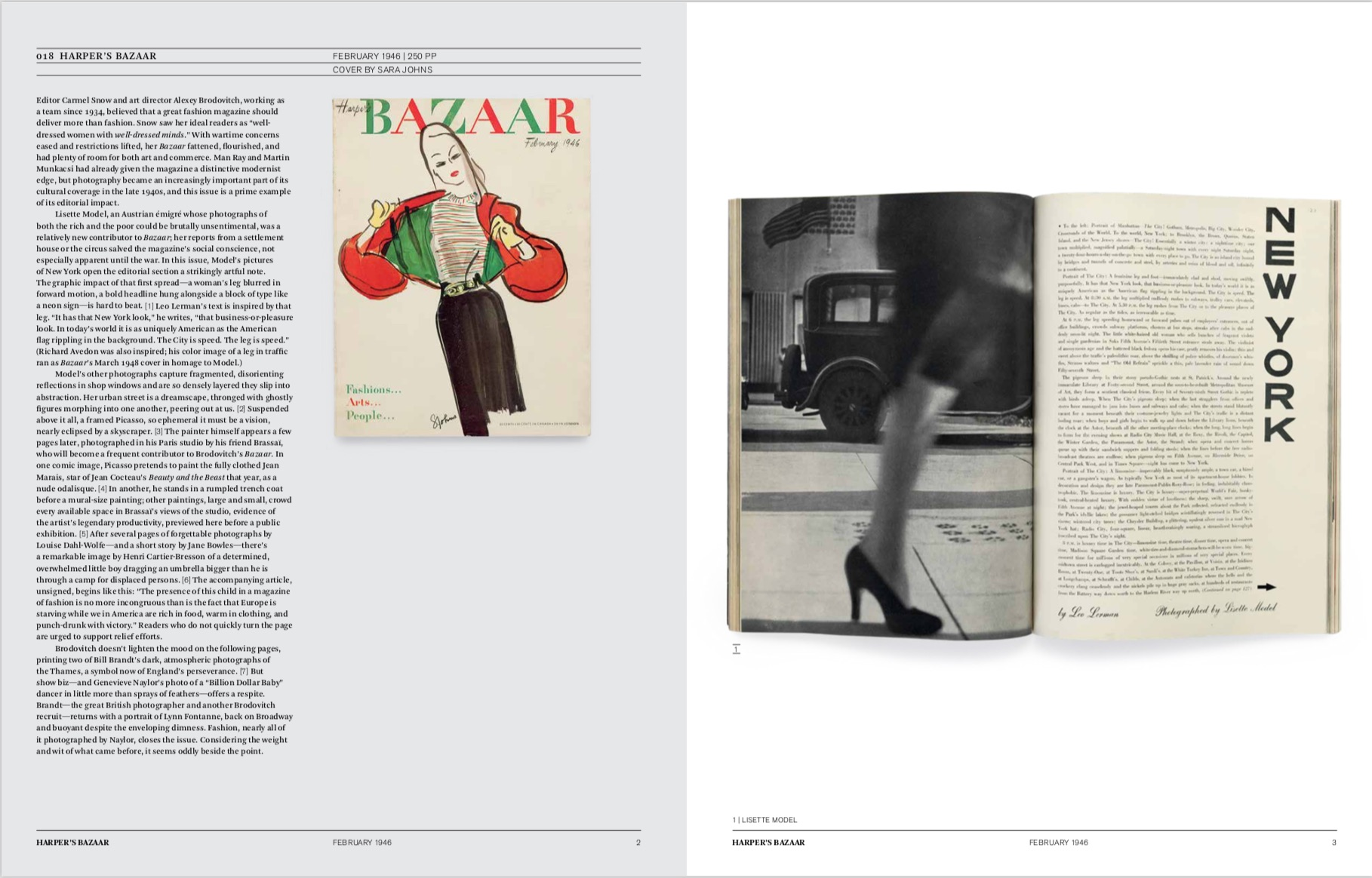 By Vince Aletti from Issues: A History of Photography in Fashion Magazines copyright Phaidon 2019