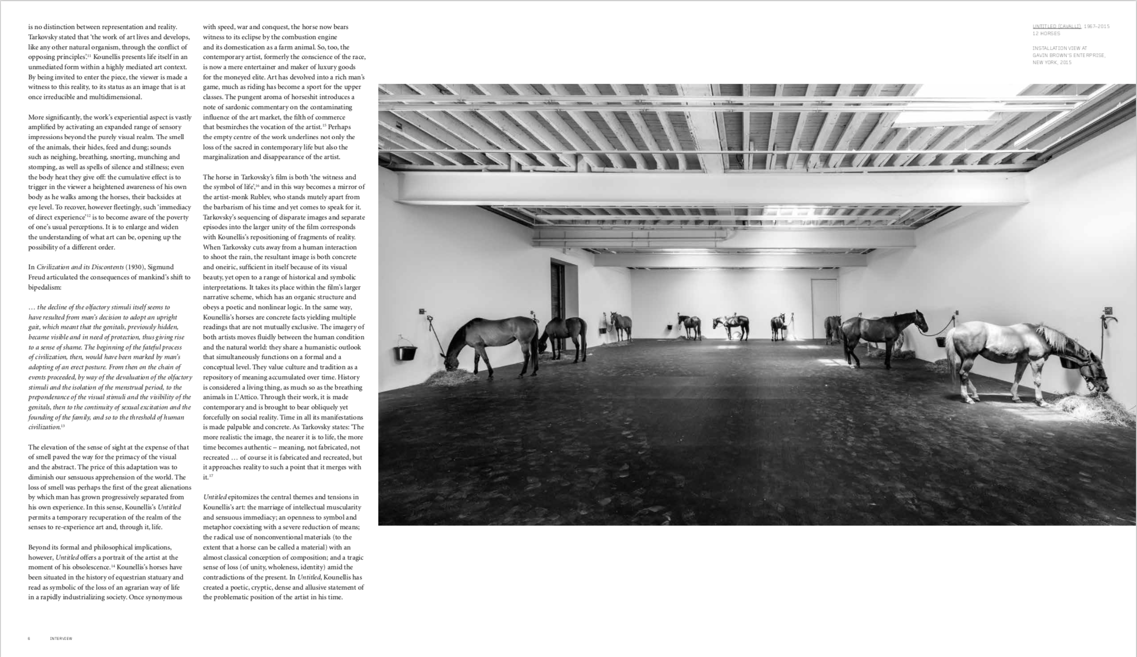 By Philip Larratt-Smith and Rudi Fuchs from Jannis Kounellis copyright Phaidon 2018
