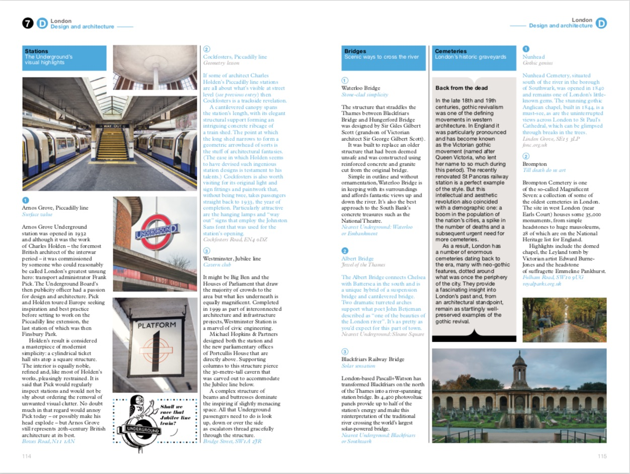 From London: the Monocle Travel Guide Series copyright Gestalten 2015