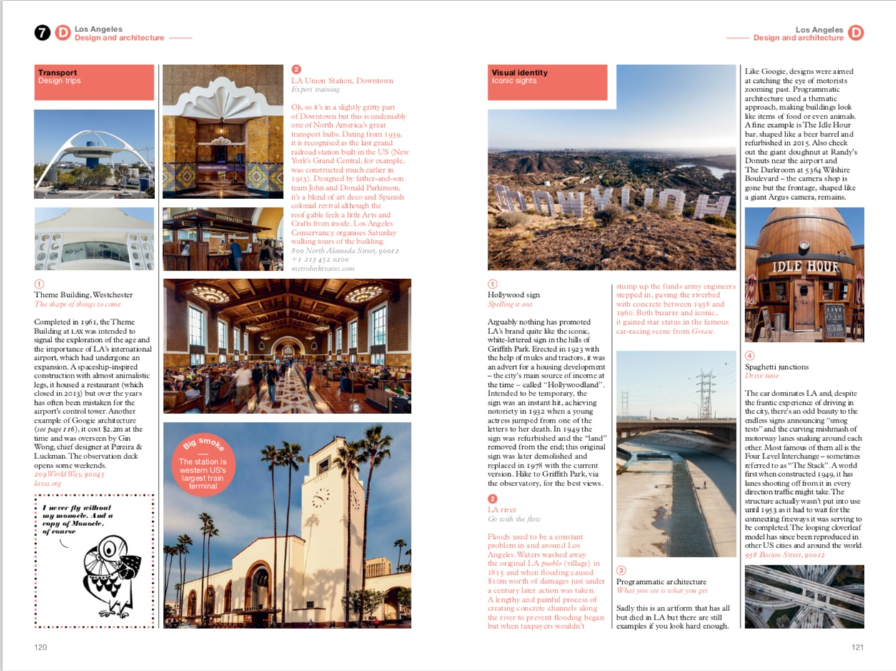 By Tyler Brule, Andrew Tuck, Joe Pickard from Los Angeles: The Monocle Travel Guide Series copyright Gestalten 2016