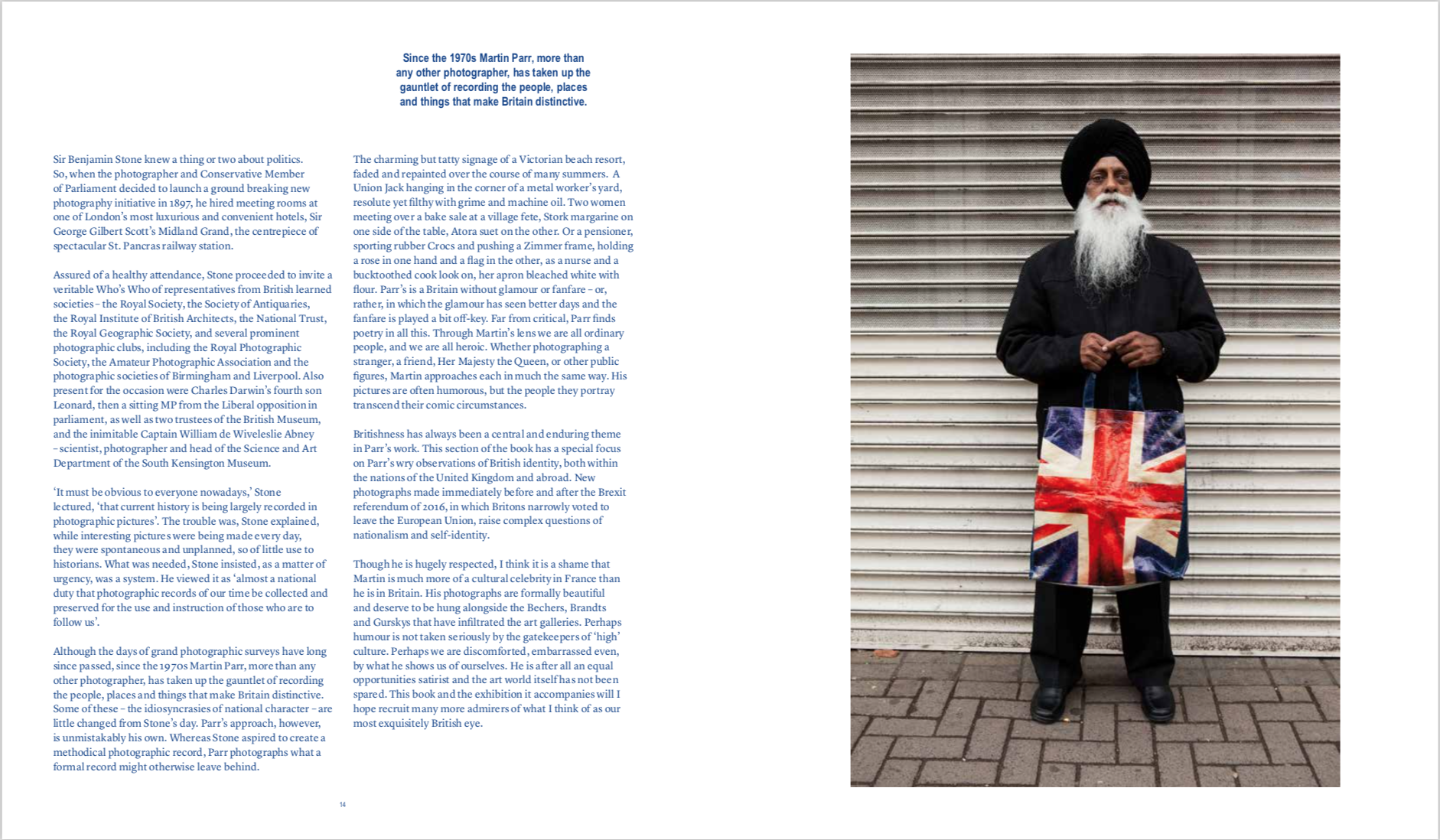 By Phillip Prodger, Martin Perry from Only Human: Photographs by Martin Parr copyright Phaidon 2019