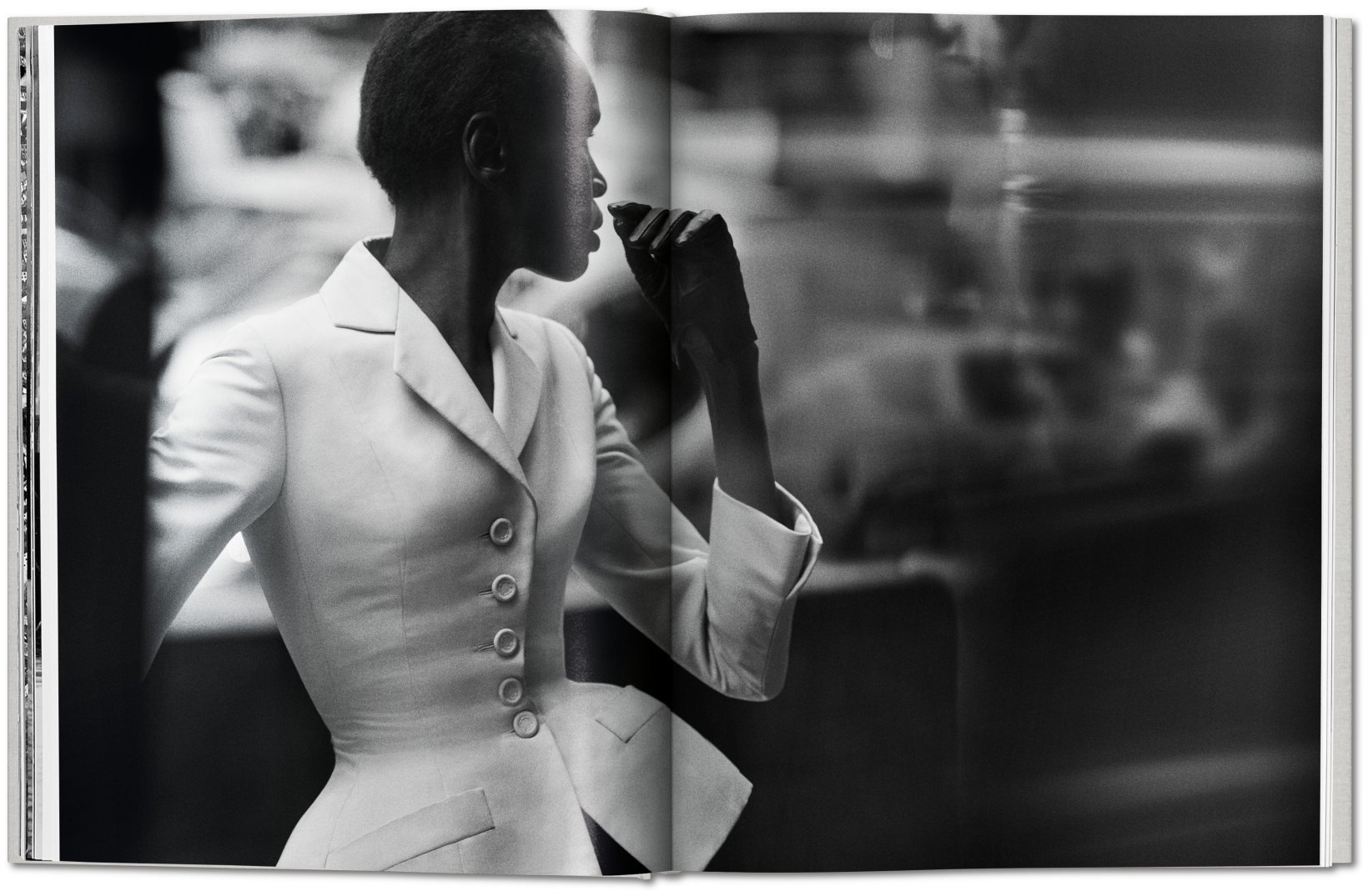 By Martin Harrison from Peter Lindbergh. Dior copyright Taschen 2019