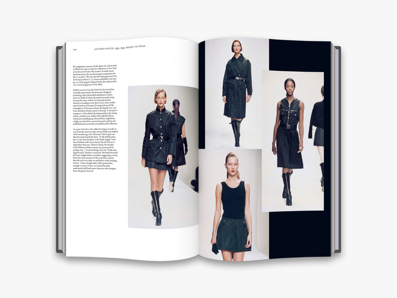 By Susannah Frankel from Prada Catwalk: The Complete Collections copyright Thames & Hudson 2019