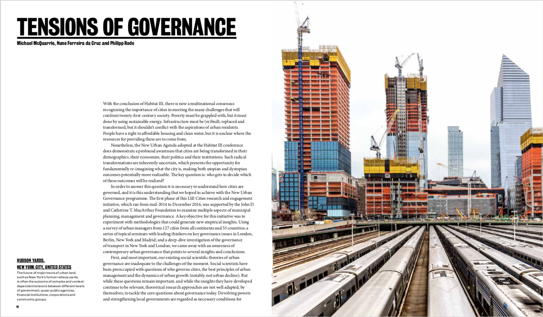 By Ricky Burdett and Philipp Rode from Shaping Cities in an Urban Age copyright Phaidon 2018