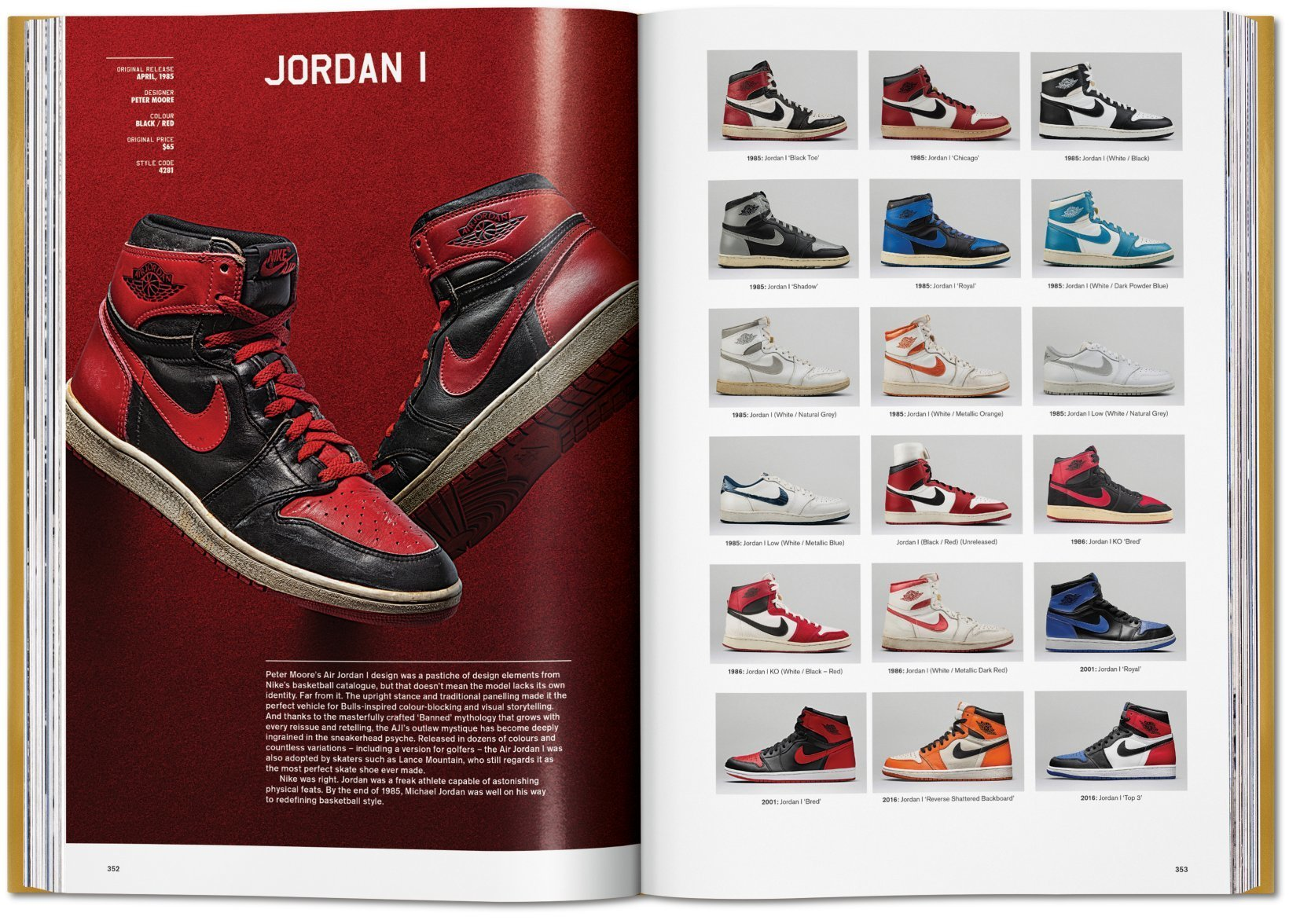 By Simon Wood from Sneaker Freaker. The Ultimate Sneaker Book copyright Taschen 2018