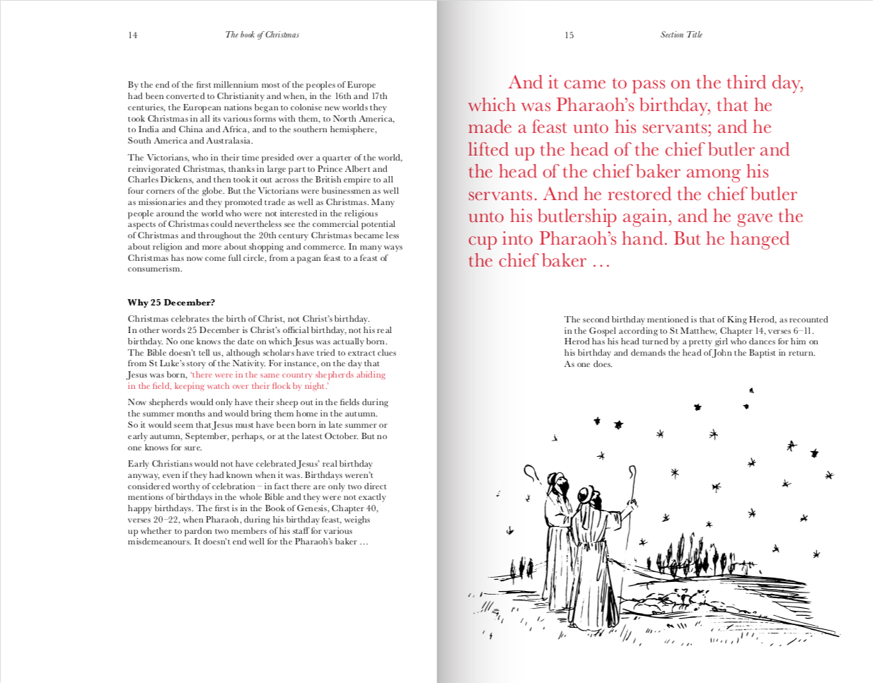 By Christopher Winn from The Book of Christmas: The Hidden Stories Behind Our Festive Traditions  copyright Hardie Grant Books 2018