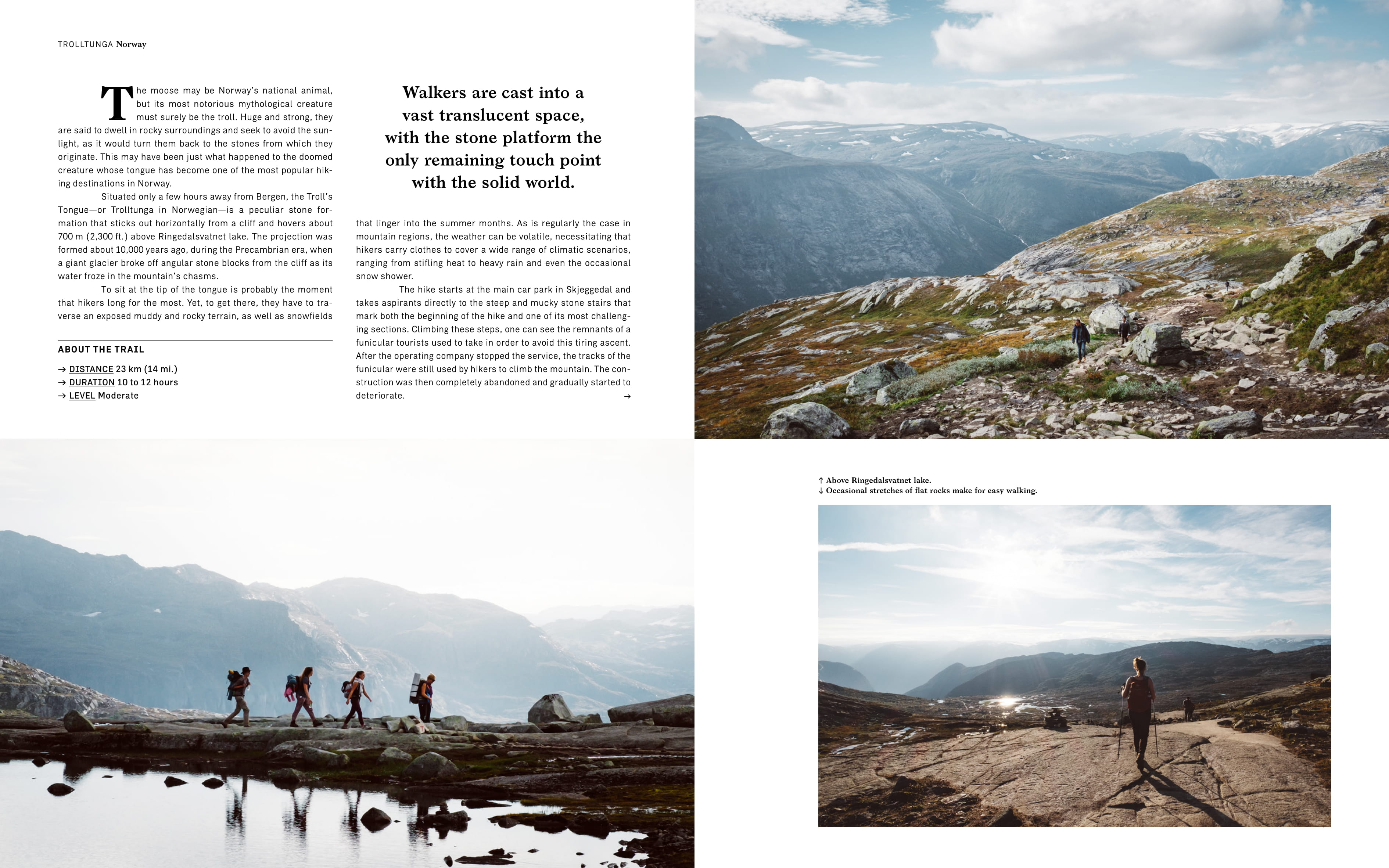 From Wanderlust: Hiking on Legendary Trails copyright Gestalten 2017