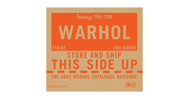 THE ANDY WARHOL CATALOGUE RAISONNE, PAINTINGS 1976-1978