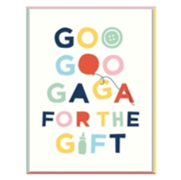 Cheree Berry Goo Goo Ga Ga for this Gift Notecards