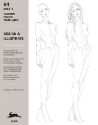 Design & Illustrate Fashion Figure Templates