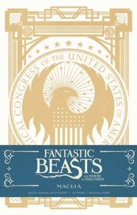 Fantastic Beasts and Where to Find them: MACUSA Hardcover Ruled Journal