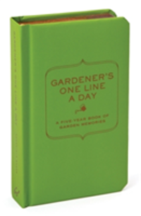 Gardener's One Line a Day A Five-Year Memory Book