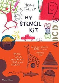 My Stencil Kit: Draw, Colour and Create Your Own Stories