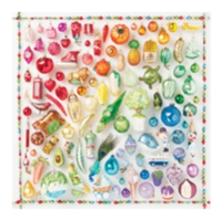 Rainbow Ornaments 500 Piece Puzzle
