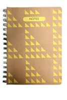 GEOART: Medium Spiral-bound Notebook