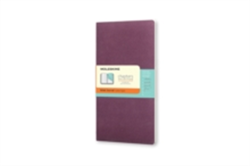 Moleskine Chapters Journal Plum Purple Slim Medium Ruled