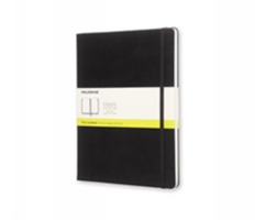 Moleskine Extra Large Plain Notebook Hard