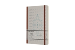 Moleskine Time Notebook Limited Collection Brown Large Plain Notebook Hard