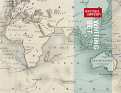 British Library Maps Writing Set