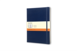 Moleskine Extra Large Prussian Blue Hard Ruled Notebook