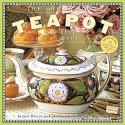 2019 the Collectible Teapot & Tea Wall Calendar