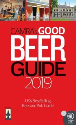 CAMRA's Good Beer Guide 2019