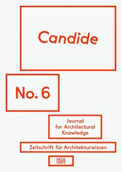 Candide. Journal for Architectural Knowledge: No. 6