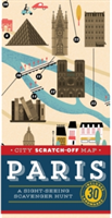 City Scratch-Off Map: Paris A Sight-Seeing Scavenger Hunt