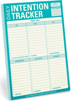 Daily Intention Tracker Pad Intention Tracker