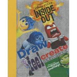 Disney Pixar Inside Out Draw, Feel, Create Sketchbook