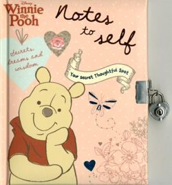 Disney Winnie the Pooh Notes to Self