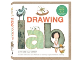 Drawing Lab Kit A Fun and Silly Art Kit, Includes Instructions and Materials for Drawing Experimentation and Play Burst: featuring a 32-page book with instructions and ideas
