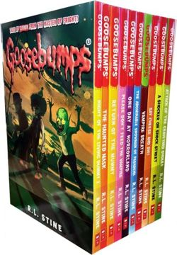 Goosebumps Horrorland Series 10 Books Collection Set by R.L.Stine (Classic Covers Set 2)
