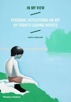 In My View: Personal Reflections on Art by Today's Leading Artists