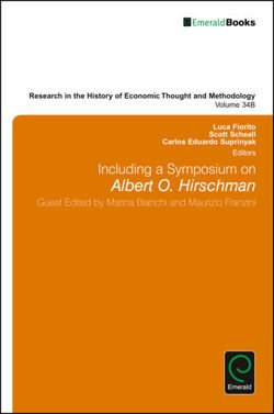Including a Symposium on Albert O. Hirschman